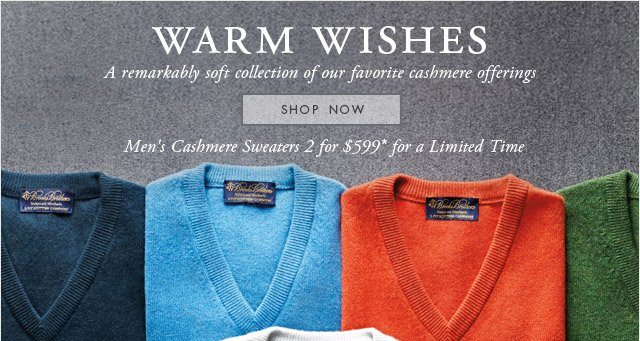 WARM WISHES - SHOP NOW