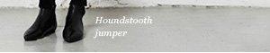 Houndstooth jumper