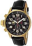 Invicta Men's Lefty Chronograph Black Leather 3330