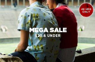 $20 & Under Mega Sale