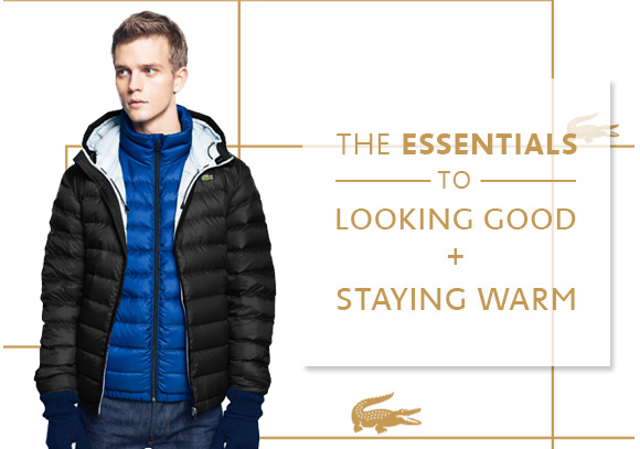 THE ESSENTIALS TO LOOKING GOOD + STAYING WARM