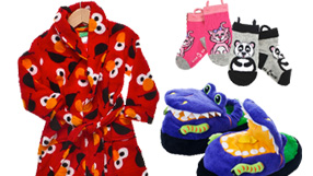 Great Gifts: Kids' Housecoats, Hooded Wraps, PJs & more