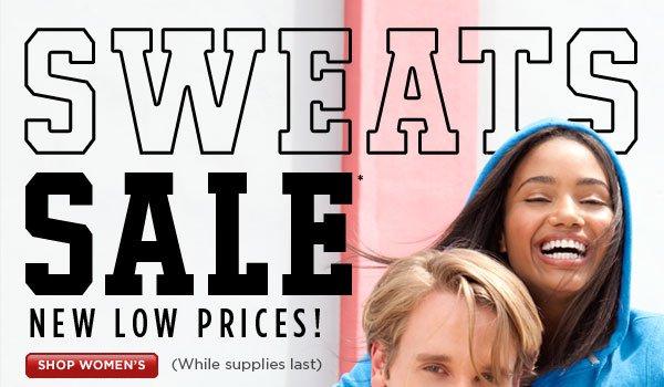 SHOP Women's Sweats Sale