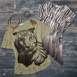 Into the Jungle: Apparel & Accessories
