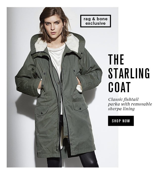 the starling coat
