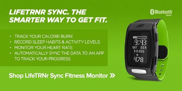 LifeTRNr Sync Bluetooth® Smart Fitness Monitors