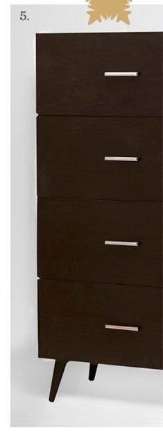 Adams 4-Drawer Dresser