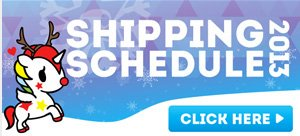 Click here for information on shipping cutoff dates