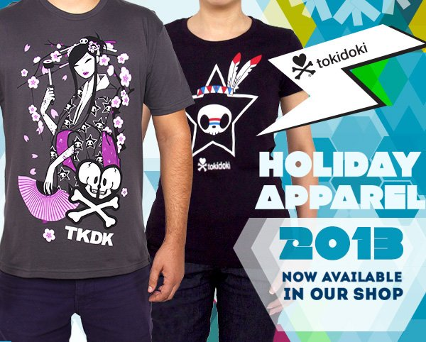 Holiday Apparel has arrived! Check them out in our online store now!