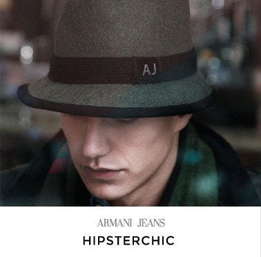 ARMANI JEANS - HIPSTERCHIC