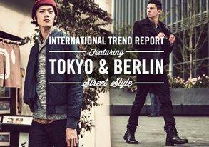 Shop Tokyo & Berlin Street Style