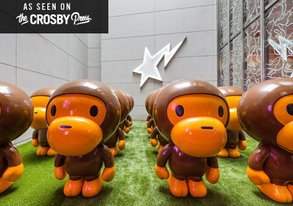 Shop Inside BAPE's Impenetrable Stronghold/Museum in Tokyo