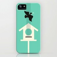 A bird stole my song iPhone Case