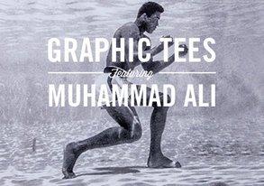 Shop Graphic Tees ft. Muhammad Ali
