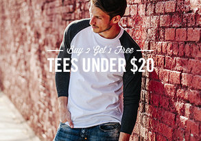 Shop Tees Under $20