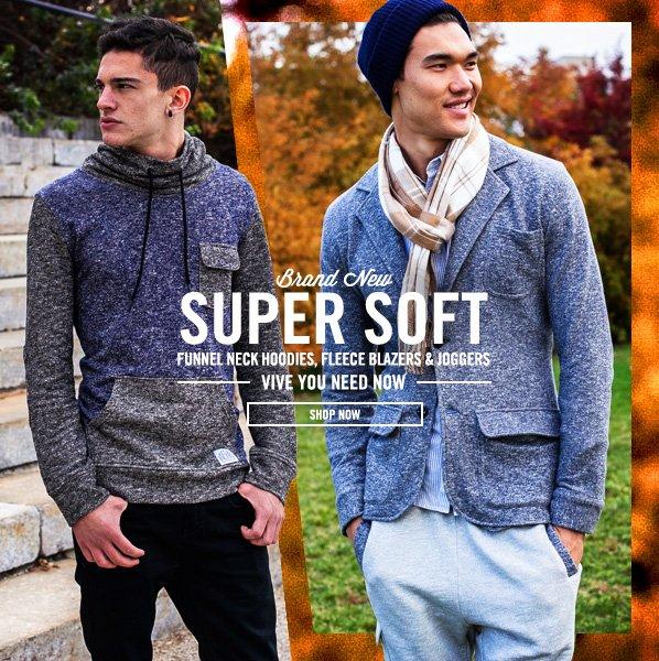 Shop Super Soft Knits ft. Fleece Blazers