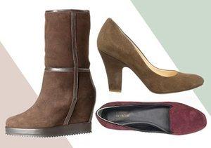 Autumnal Hues: Boots, Flats & Pumps