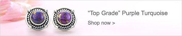 ''Top Grade'' Purple Turquoise