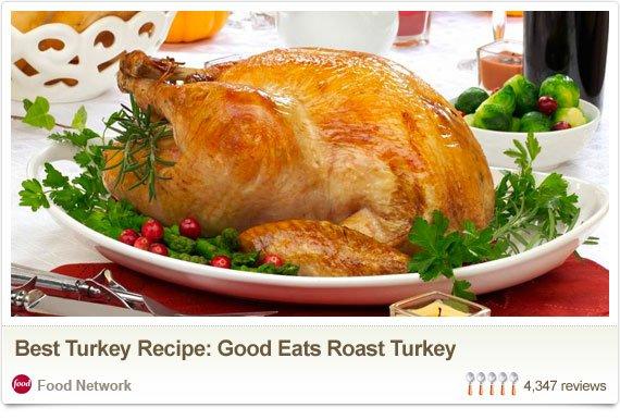 Best Turkey Recipe: Good Eats Roast Turkey