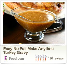 Easy No Fail Make Anytime Turkey Gravy