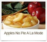Apples No Pie A La Mode
