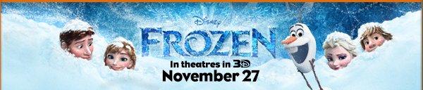 Disney Frozen November 27