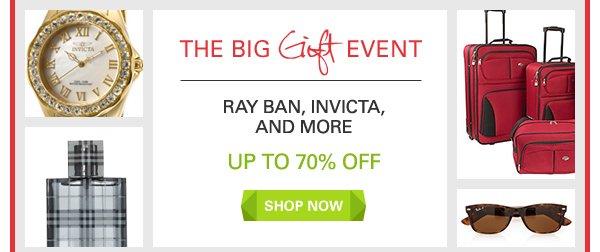 Ray Ban, Invicta, and More