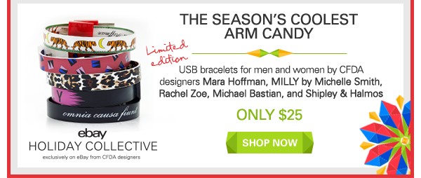 The season's coolest arm candy