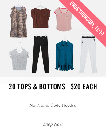 20 Tops Promo