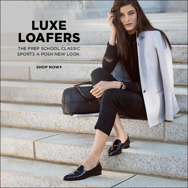 Loafers get hip! The prep-school classic sports a posh new look. >>