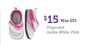 $15 Was $33 Originals Jackie White, Pink