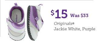 $15 Was $33 Originals Jackie White, Purple