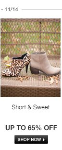 Casual Booties and Shooties