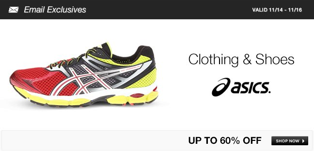 ASICS Clothing and Shoes