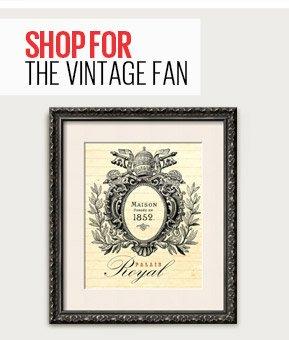 SHOP FOR THE VINTAGE FAN - Maison Royal