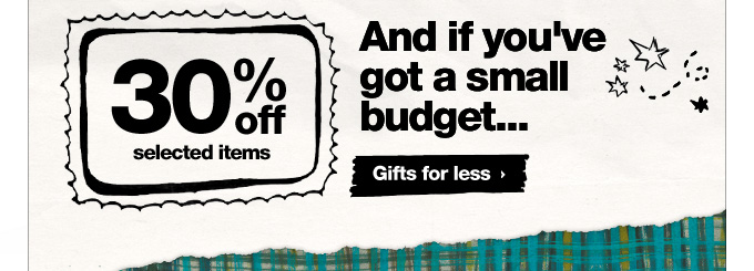 Gifts for less