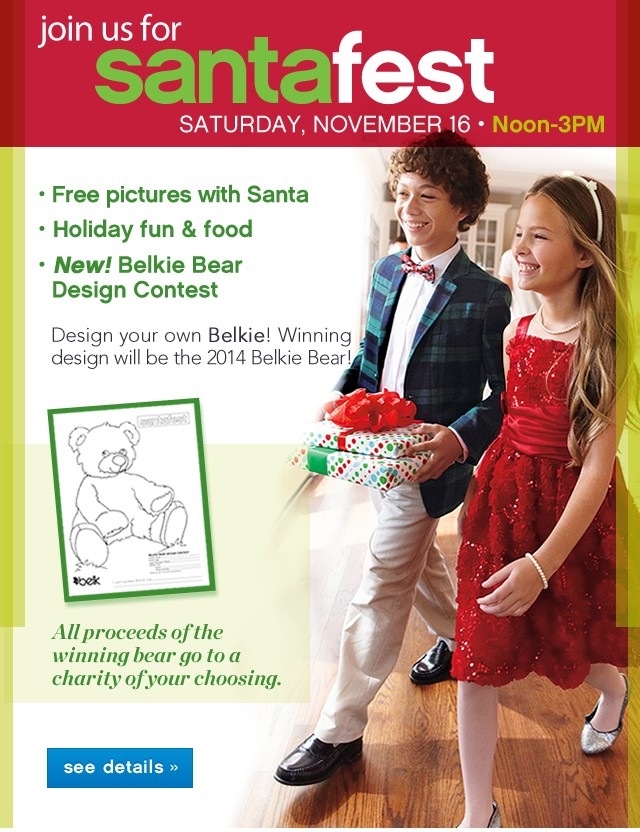 In-Store Only. StantaFest Sat. Nov 16 12-3pm. See details.