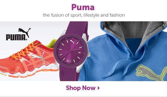 Puma - the fusion of sport, lifestyle and fashion - Shop Now