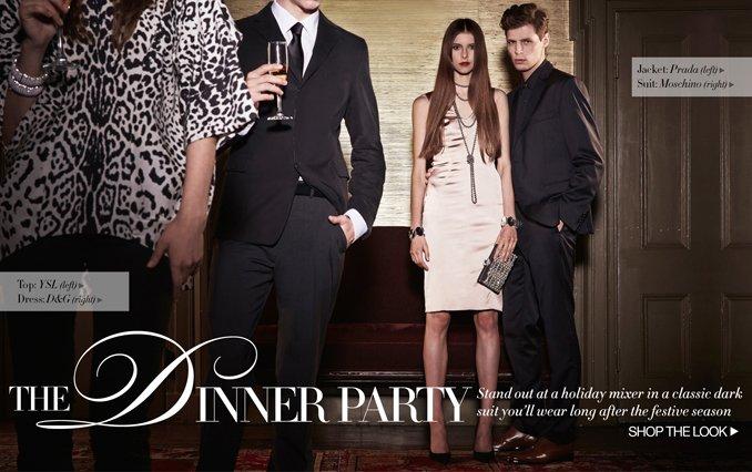 Shop The Look: Men Dinner Party