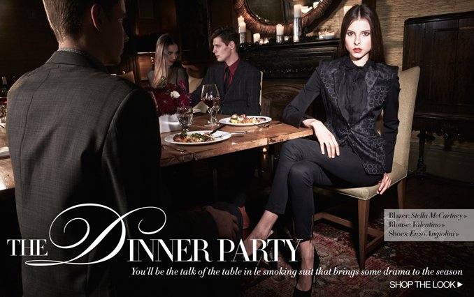 Shop The Look: Women Dinner Party