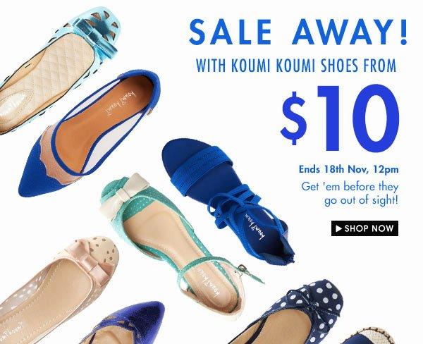 Koumi Koumi shoes from $10