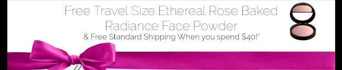 Free Travel Size Ethereal Rose Baked