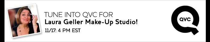 Tune into QVC for LAura Geller