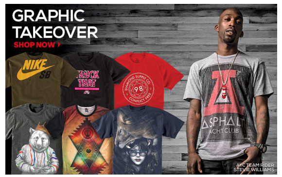 T-Shirts: Graphic Takeover