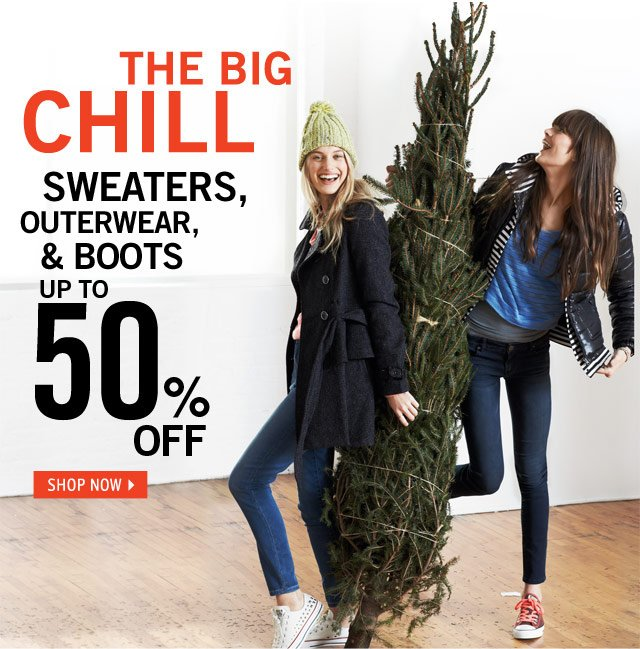 UP TO 50% OFF online & in stores