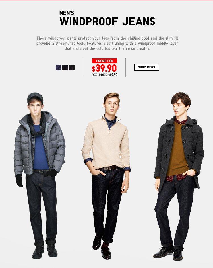 Men's Heattech Jeans