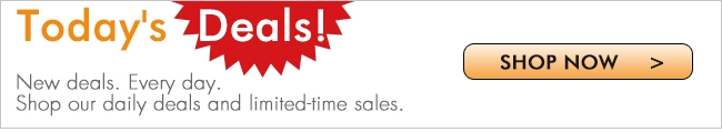 New deals. Every day. Shop our daily deals and limited-time sales.