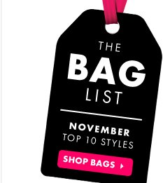 The Bag List - Shop Bags