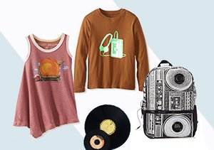 The Little Rocker: Tees, Bags & More
