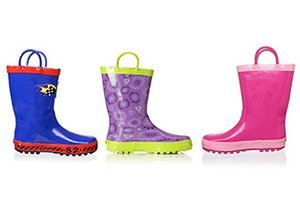 Splish Splash: Kids' Rainboots